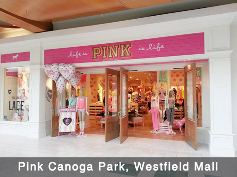 Pink Canoga Park, Westfield Mall